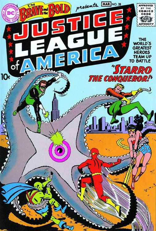 Justice League cover, 1960