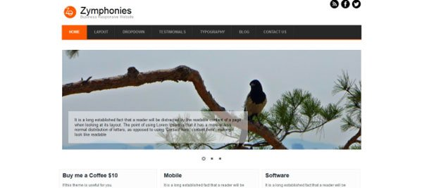 drupal themes business responsive theme