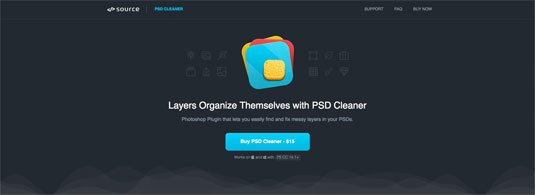 Photoshop plugins: PSD Cleaner