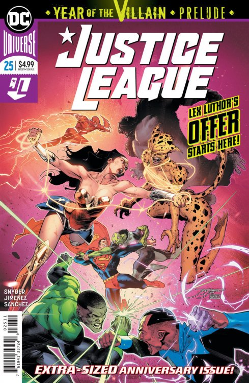 Justice League cover, 2019