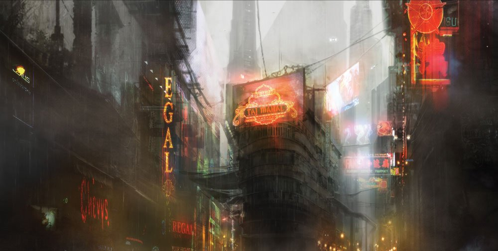 Chinatown scene from Blade Runner 2049