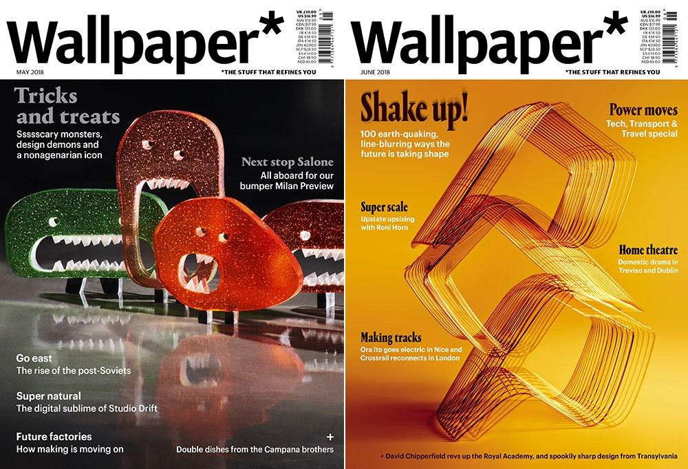 Wallpaper* magazine covers