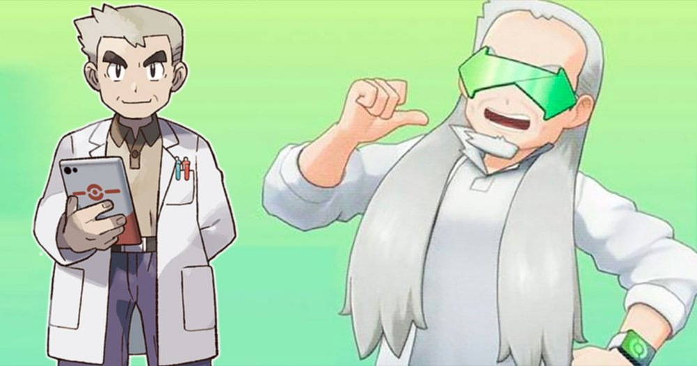 Professor Oak and Grand Oak