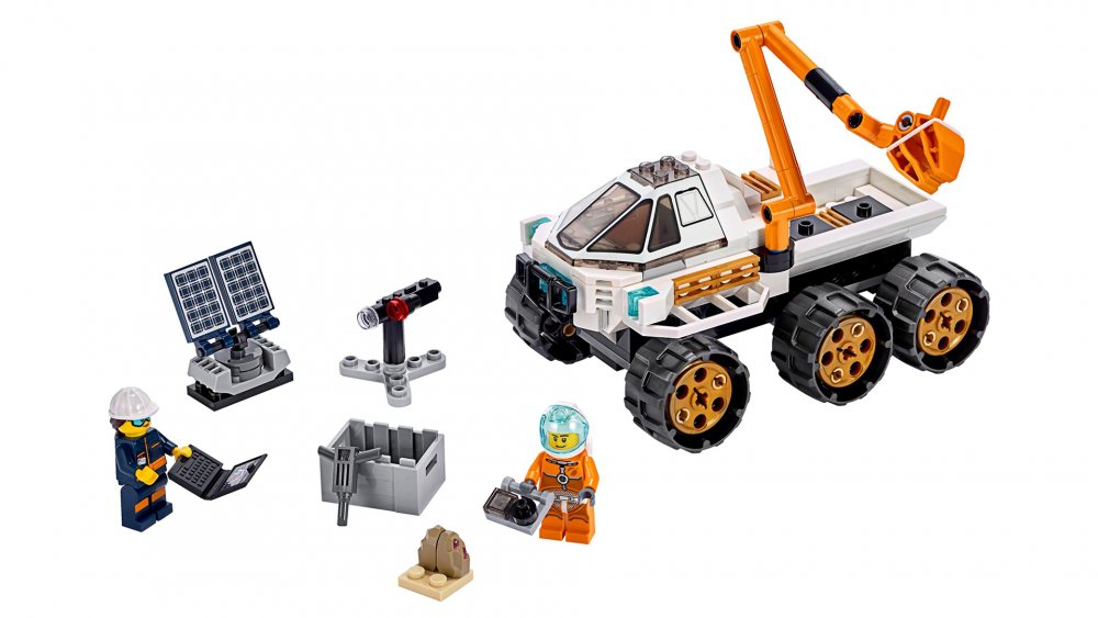 Best Lego sets: Lego City Rover Testing Drive