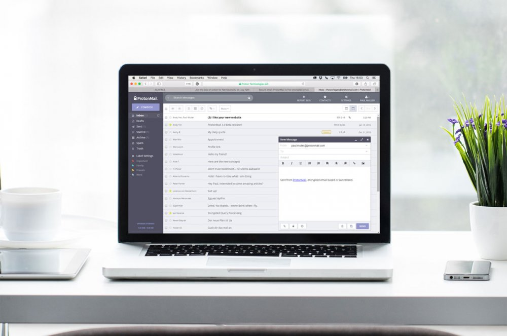 The best email provider of 2018: ProtonMail