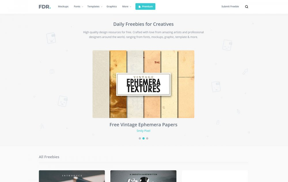 Free design resources: FreeDesignResources