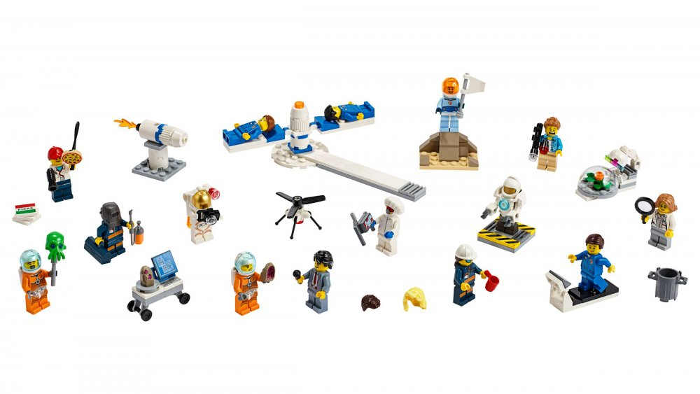 Best Lego space sets: People Pack - Space Research and Development
