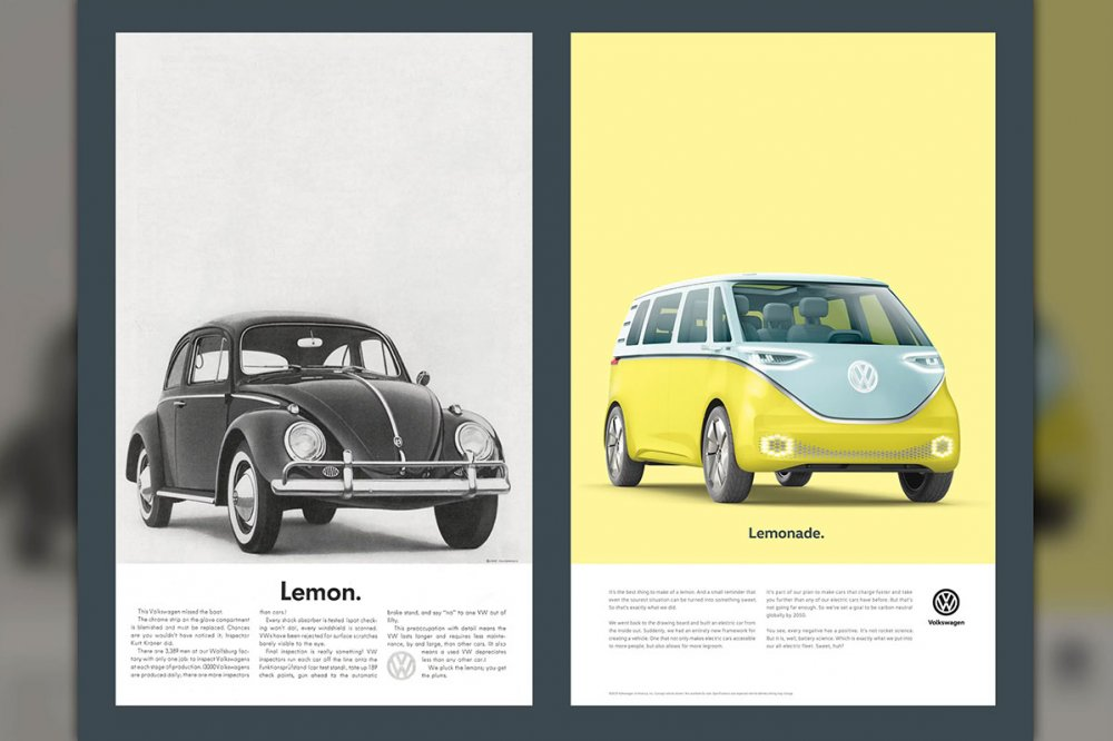 Volkswagen campaigns contrasted